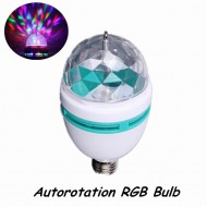 Bec led multicolor autorotativ 3w