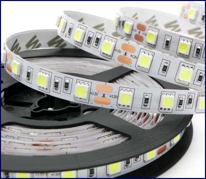 Banda led 5050 alb