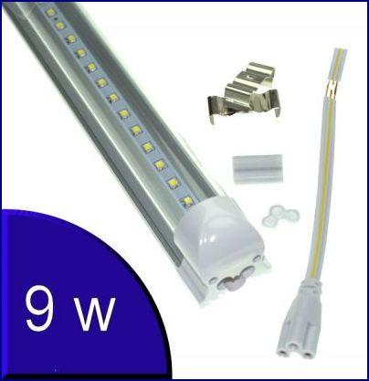 tub led cu suport,tub led 9w